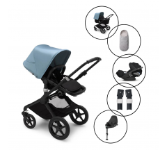 Bugaboo Fox2 Complete Travel System with Cybex Cloud Z & Base With Free Newborn Inlay