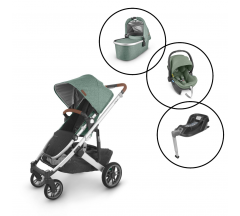 Uppababy Cruz V2 Travel System with Mesa Car Seat & Base