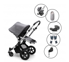 Bugaboo Cameleon3 Plus Complete Travel System with Cybex Cloud Z & Base with Free Newborn Inlay