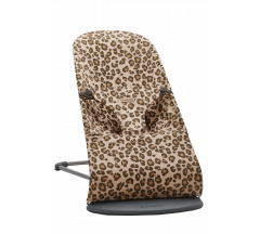 BabyBjorn Bouncer Bliss - Beige Leopard Cotton