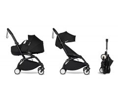 BABYZEN YOYO2 Complete with Bassinet - Black
