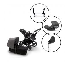 Bugaboo Donkey3 Mono/Cybex Cloud Z - 5 Piece Bundle