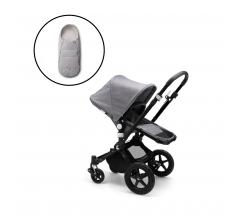 Bugaboo Cameleon3 Plus Complete - Black/Grey Melange with Free Newborn Inlay