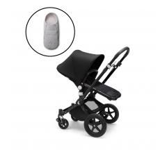Bugaboo Cameleon3 Plus Complete - Black/Black with Free Newborn Inlay