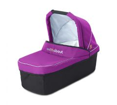 Out n About Nipper Carrycot Single Purple