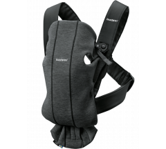 Babybjorn Carrier Mini 3d Jersey - Charcoal Grey