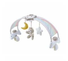 Chicco Rainbow Sky 2-in-1 Bed Arch – Neutral