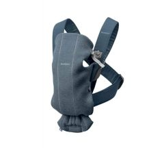 Babybjorn Carrier Mini 3d Jersey - Dove Blue