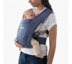 Ergo Embrace Newborn Carrier - Soft navy