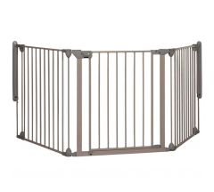 Safety 1st Modular 3 Multi-panel Gate - Light Grey