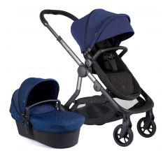 iCandy Orange Pushchair & Carrycot Indigo