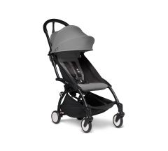 BABYZEN YOYO2 6mth+ Stroller - Black with Grey