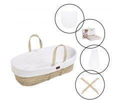 LGS Complete Moses Basket Bundle