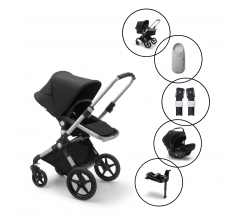 Bugaboo Lynx Travel System with Bugaboo Turtle AIR Car Seat & Base with free Newborn Inlay