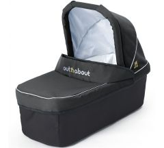 Out 'n' AboutNipper Single Carrycot- Raven Black