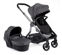 iCandy Orange Pushchair & Carrycot Charcoal