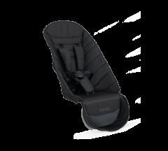 iCandy Peach 2nd Seat Fabric Black Twill