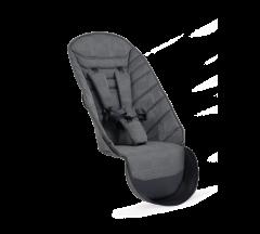 iCandy Peach 2nd Seat Fabric Dark Grey Check