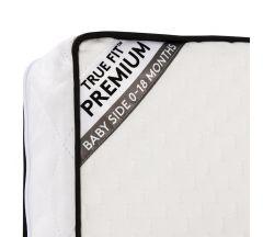 Silver Cross Truefit Premium Cotbed Mattress