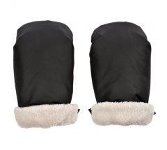 Red Castle Pushchair Mitts- Black