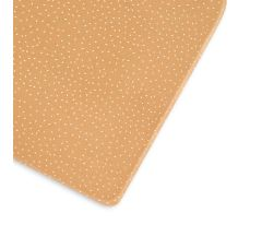 Little Green Sheep Organic Cot & Cot Bed Fitted Sheet - Honey Rice
