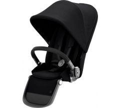Cybex Gazelle Sibling Seat Deep Black on Black Frame