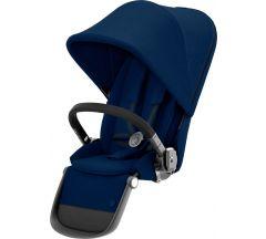 Cybex Gazelle Sibling Seat Navy Blue on Black Frame