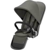 Cybex Gazelle Sibling Seat Soho Grey on Taupe Frame