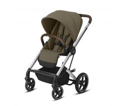 Cybex Balios S Lux Pushchair – Classic Beige & Silver Frame
