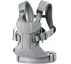 Babybjorn Carrier One Silver3D