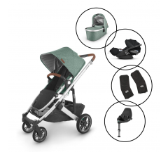Uppababy Cruz V2 Travel System with Cybex Cloud Z & Base