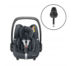 Maxi Cosi Pebble Pro iSize Car Seat & FamilyFix2 Bundle