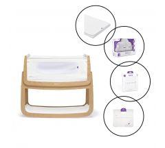 SnuzPod4 Bedside Crib 5 Piece Bundle
