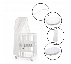 Stokke Sleepi Mini Crib Complete Bundle