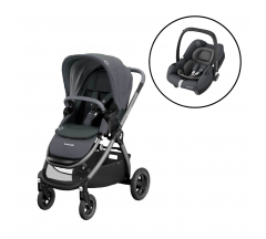 Maxi Cosi Adorra Pushchair with Maxi Cosi Tinca iSize Car Seat Bundle