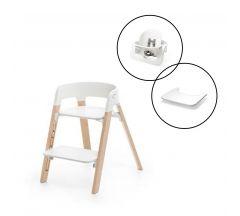 Stokke Steps Chair & Babyset Bundle