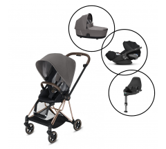 Cybex Mios Travel System with Cybex Cloud Z & Base