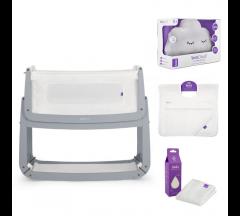 Snuzpod3 Bedside Crib  Complete Bundle