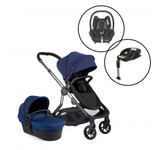 Icandy Orange Travel System with Maxi Cosi Cabriofix & Base