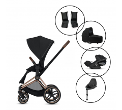 Cybex Priam Travel System with Cybex Cloud Z & Base