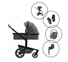 Joolz Day+ Travel System with Maxi Cosi Pebble 360 & Base - Limited Edition Magnificent Green