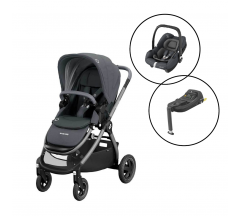Maxi Cosi Zelia2 Travel System with Maxi Cosi Tinca iSize Car Seat & Base