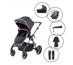 Silver Cross Wave 2020 Travel System with Silver Cross Dream Car Seat & Base