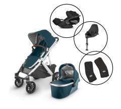 Uppababy Vista Travel System with Cybex Cloud Z & Base