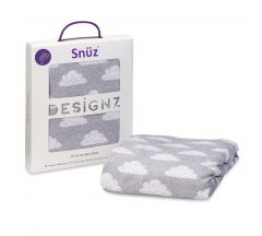 Snuz Cot/Bed Cloud Nine Cot Bed Fitted Sheet