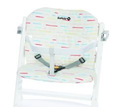 Safety 1st Timba Highchair Cushion - Red Lines