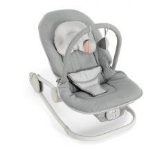 Mamas & Papas Wave Rocker - Grey Melange