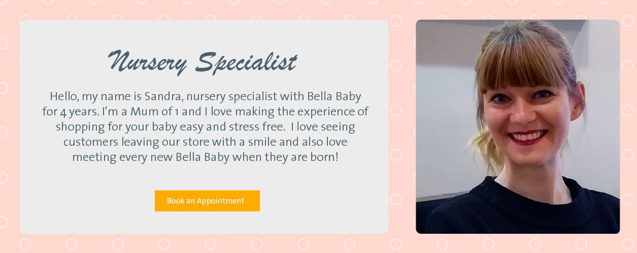 Sandra - Nursery Specialist